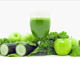 Green Vegetable Fruit Juice