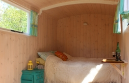 Glorious Glamping Sheppard's Hut Interior